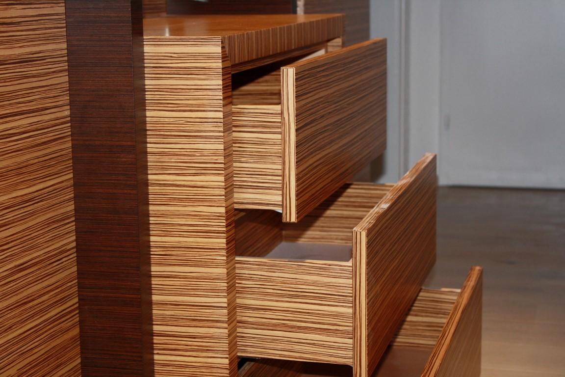 garderobe zebrano schreinerei ruprecht. Black Bedroom Furniture Sets. Home Design Ideas